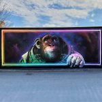 Monkeys-Flying-through-space-street-art-by-Graffiti-Artist-The-Highness-in-Sickla-Stockholm-Sweden-1