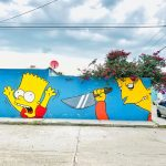 The-Simpsons-Bart-and-Bob-Patino-by-Murdoc-in-Durango-Colorado-USA-5
